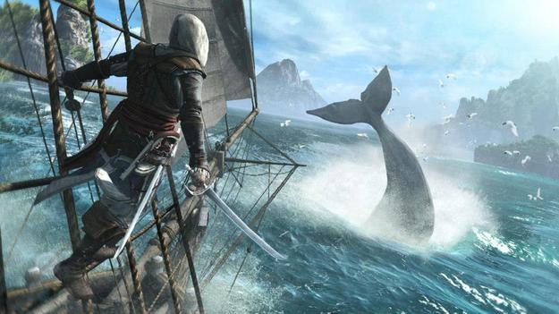 �������� ����� � ���� Assassin's Creed IV