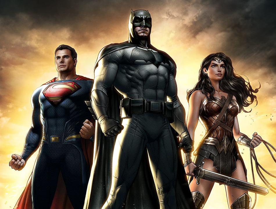 знакомство супермена с бэтменом