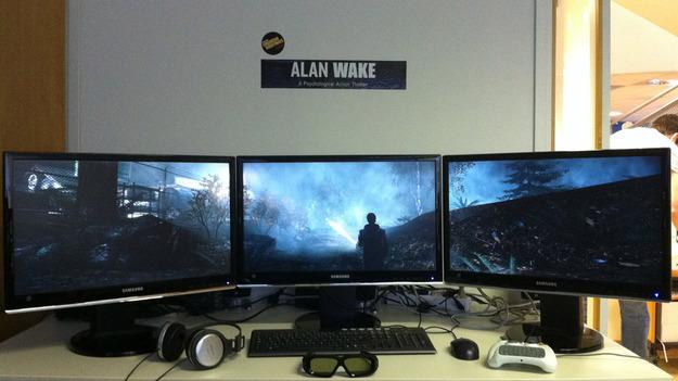 В РС версии игры Al Wake будет встроена помощь 3D и мультиэкрана