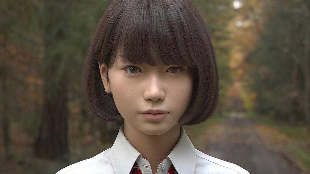 Японцы создали девушку-робота, которую трудно отличить отживого человека