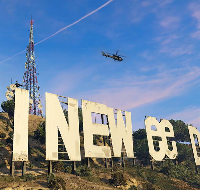 ВЛос-Анджелесе неизвестный превратил популярную надпись Hollywood вHollyweed