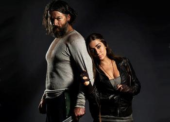 Портрет главных героев веб-сериала по мотивам The Last of Us