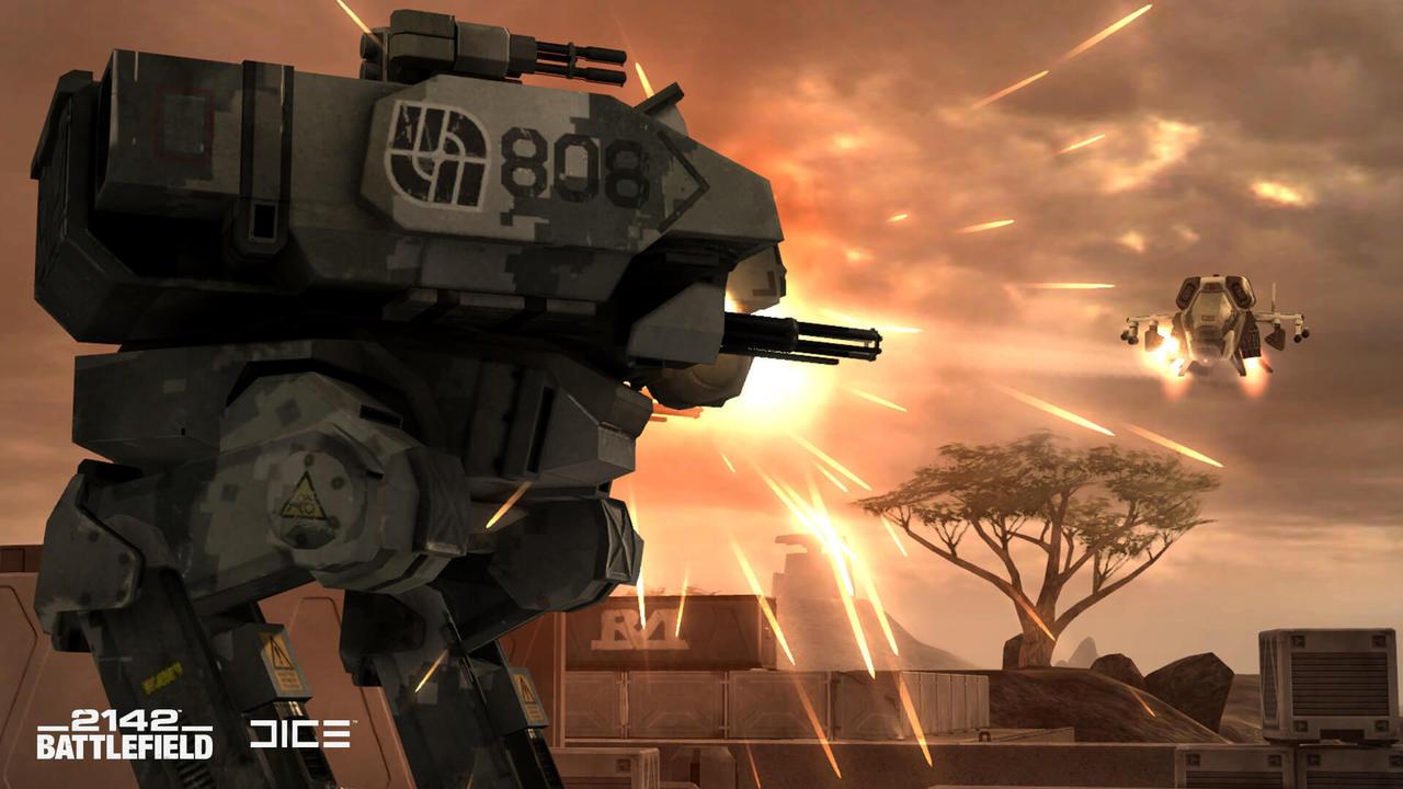 Поклонники приняли решение восстановить Battlefield 2142