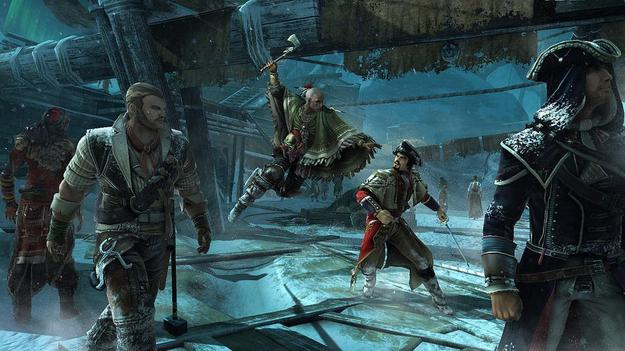 Игра  Assassin'с Creed III не применяет все превосходства РС перед приставками