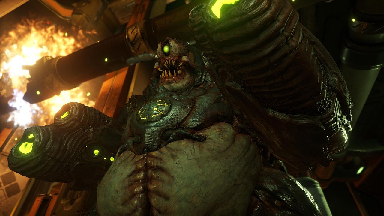 Doom (2016) PC - Скриншот 1