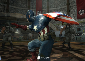 Скриншот Captain America: Super Soldier