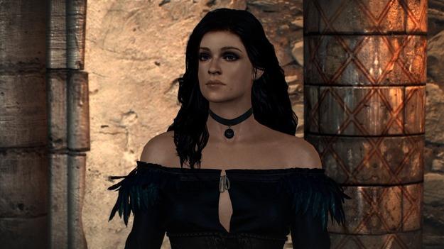 В «Ведьмак 3» добавили Аню Чалотру в роли Йеннифэр из сериала «Ведьмак»