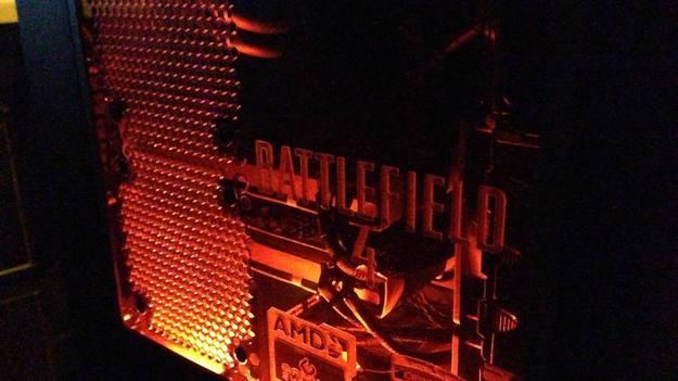 Бригада DICE продемонстрировала ПК, на котором опустят игру Battlefield 4 на выставке Е3