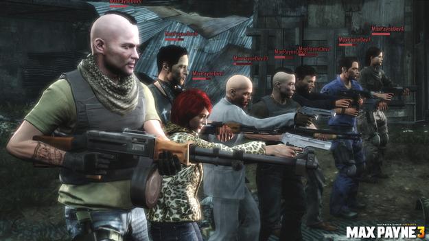Rockstar опубликовала новые скриншоты с лицами фанатов серии Max Payne 3