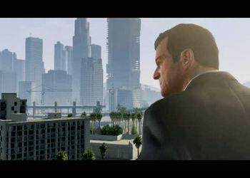 Снимок экрана из трейлера GTA 5