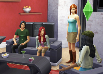 Снимок экрана The Sims 4