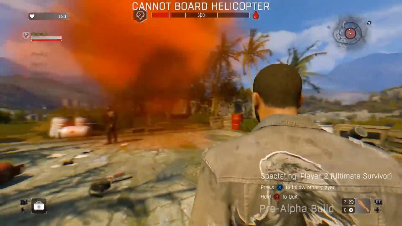 Показан 1-ый геймплей Bad Blood— Королевской Битвы изDying Light