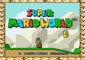 Скриншот Super Mario Worlds