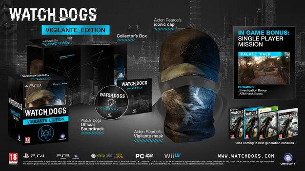 Ubisoft обнародовала обновленный трайлер к Watch Dogs, и информацию об изданиях игры
