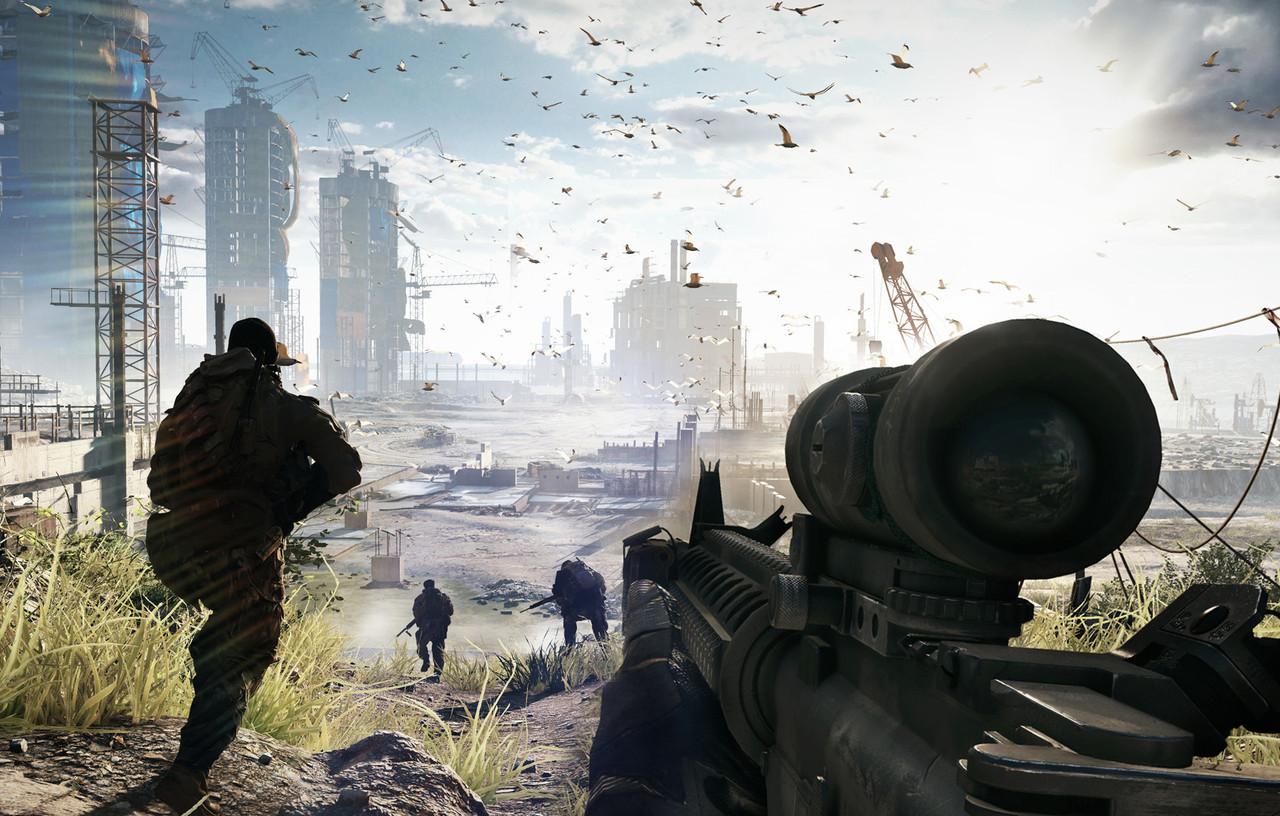DICE сделает Battlefield 4 киберспортивную дисциплину
