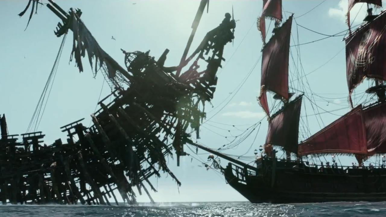 Вweb-сети разместили 2-ой трейлер «Пиратов Карибского Моря» сДеппом