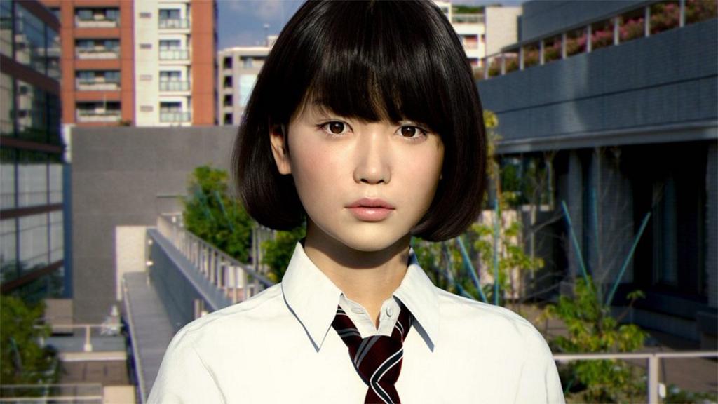 Японцы создали «реальную» девушку спомощью компьютерной графики