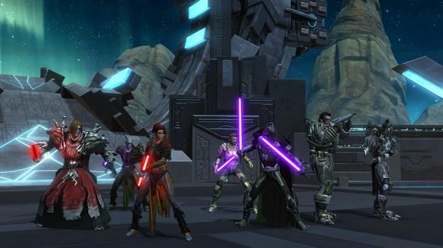 ЕА произвела обновленный апгрейт 1.6 к игре Star Wars: The Old Republic