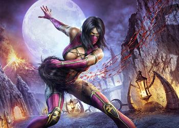 Снимок экрана Милины в Mortal Kombat