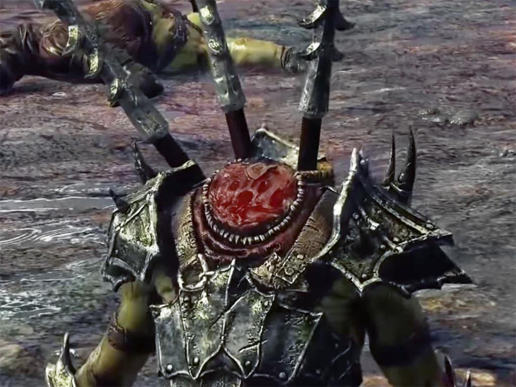 Орки в игре Middle-earth: Shadow of Mordor могут жить и говорить даже без головы