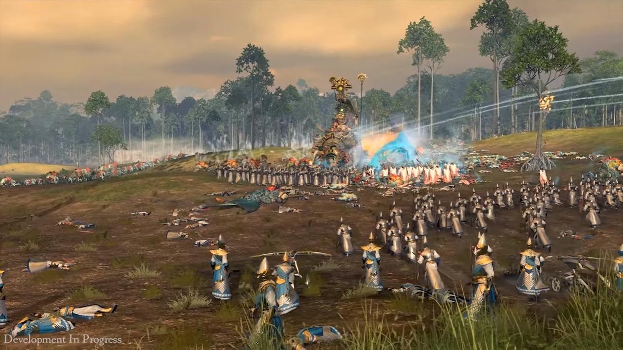 Посмотрите нановый геймплей Total War: WarhammerII завысших эльфов