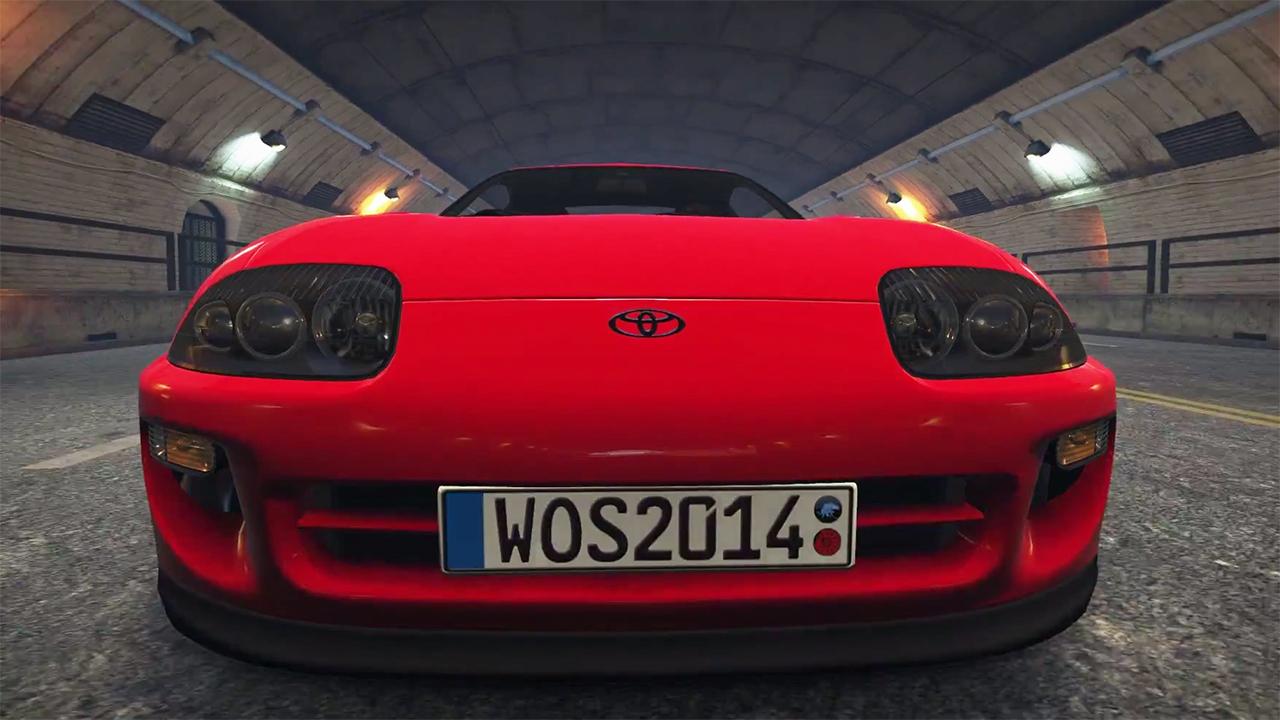 Новый ролик к игре World of Speed демонстрирует Toyota Supra во всей красе