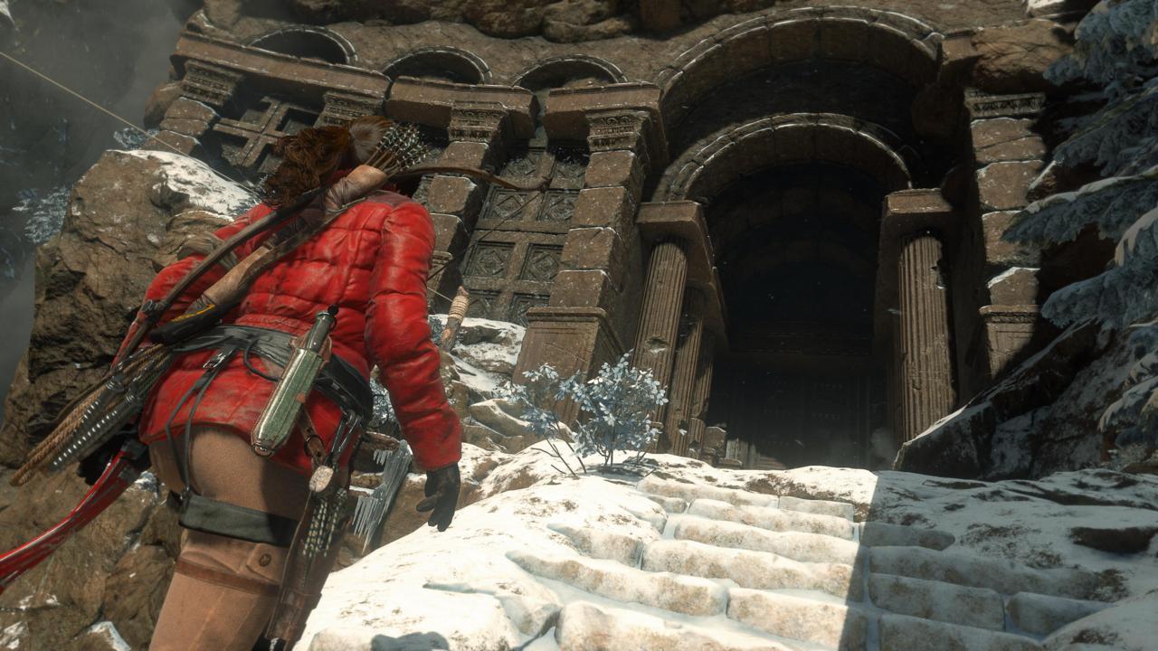 Качество графики Rise of the Tomb Raider ...: gamebomb.ru/gbnews/14904