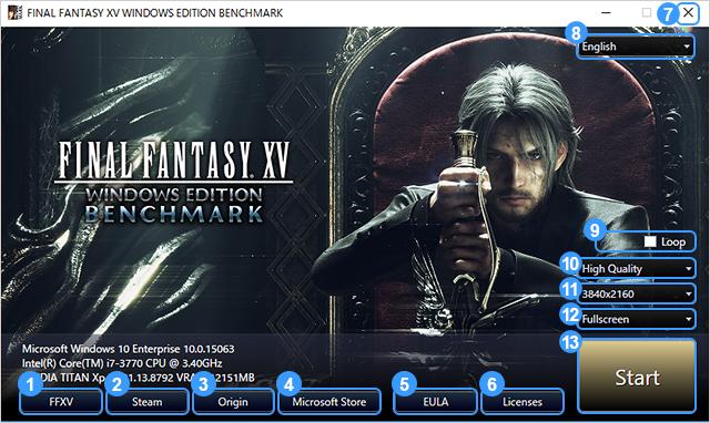 Бенчмарк Final FantasyXV наPC предлагают получить бесплатно
