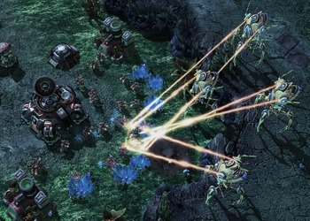 Скриншот StarCraft II: Wings of Liberty