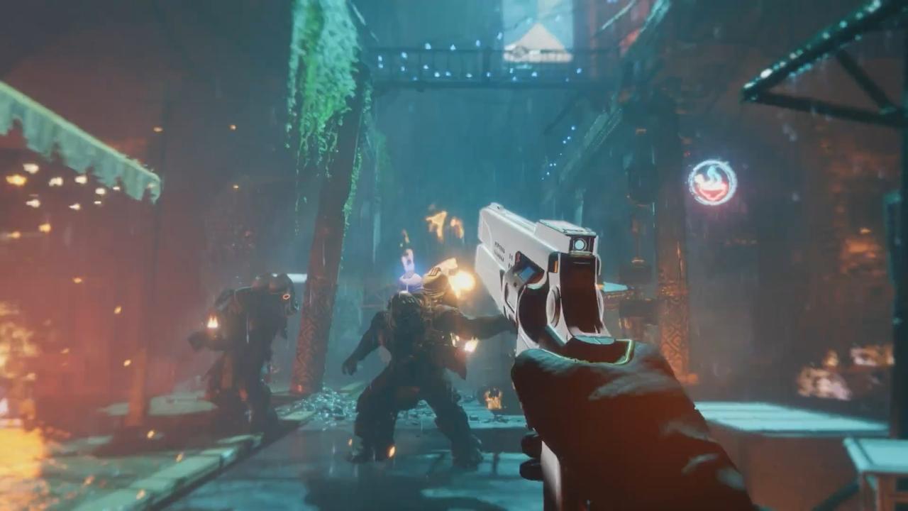 Опубликован первый реальный геймплей игры Destiny 2