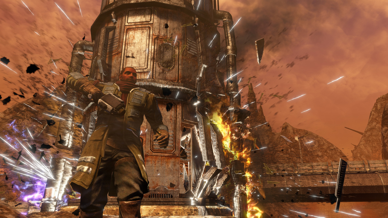 Дата выхода и детали Red Faction: Guerrilla Remastered