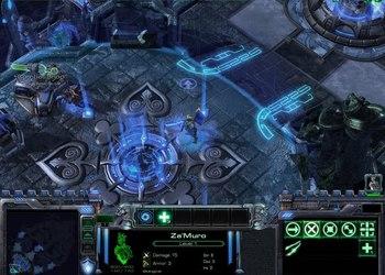 Снимок экрана Blizzard DOTA