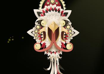 Скриншот Glitch (голова гиганта)