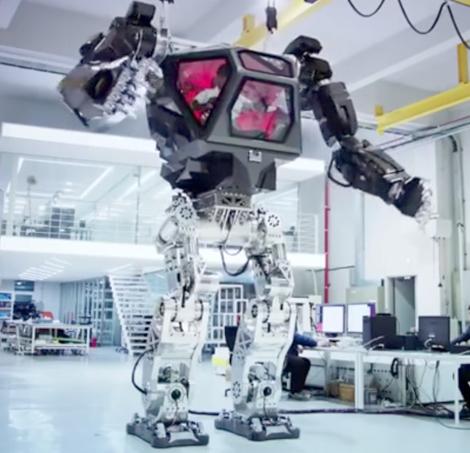 ВКорее создатели показали боевого робота, удивительно схожего наробота из«Аватара»