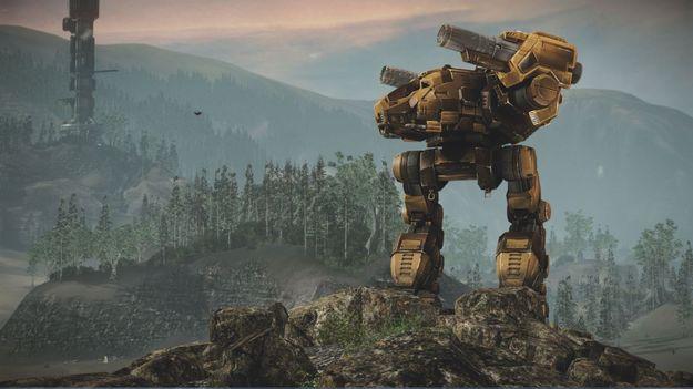 Разработчики игры MechWarrior Online представили нового меха