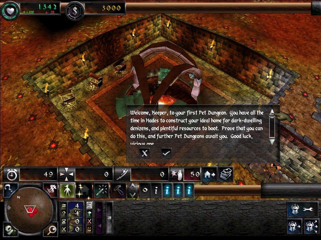 Screens Zimmer 1 angezeig: download dungeon keeper 2