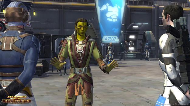 BioWare отделяет однополые романы на автономной планете в игре Star Wars: The Old Republic