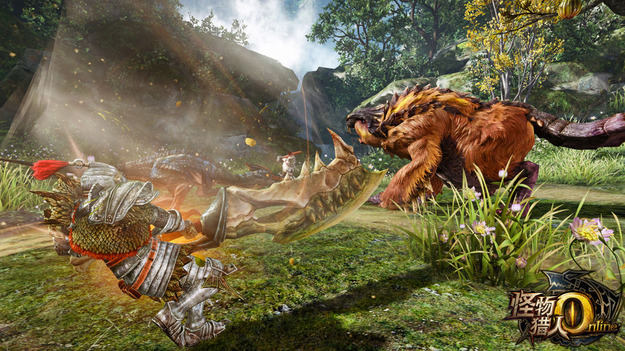 Capcom объявила свежую игру - Monster Хантер On-line