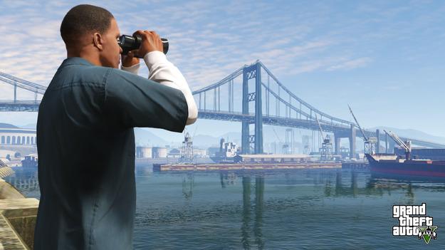 Rockstar обнародовала дюжину обновленных снимков экрана к игре GTA V
