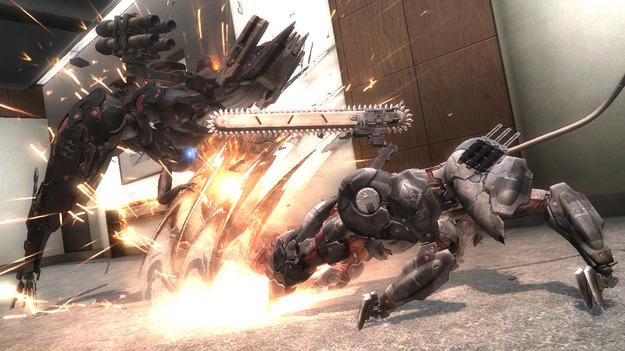 Обнародован трайлер геймплея добавления Blade Wolf к игре Metal Gear Rising: Revengeance