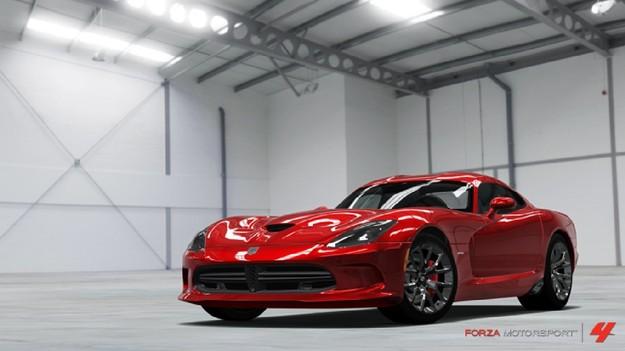 Последняя модель Viper появится в игре Forza Motorsport 4 этим летом