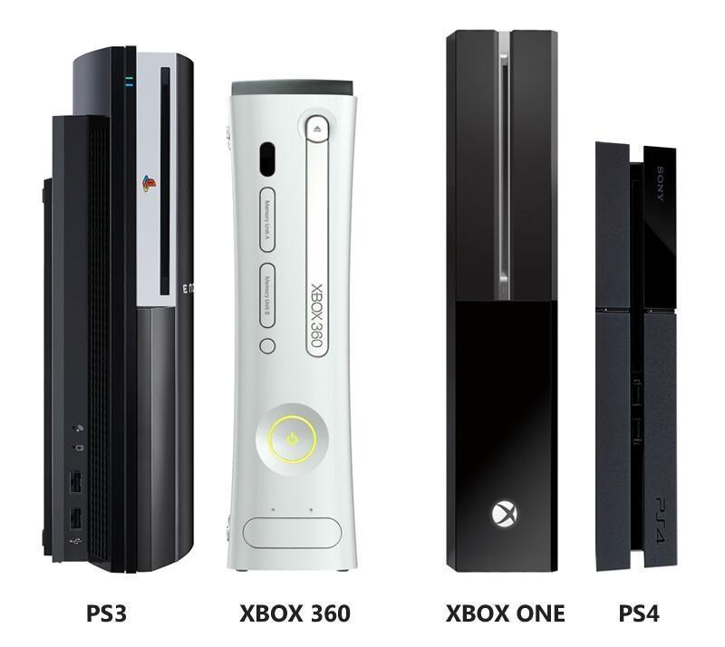 PlayStation 4 оказалась ощутимо меньше Xbox One по габаритам