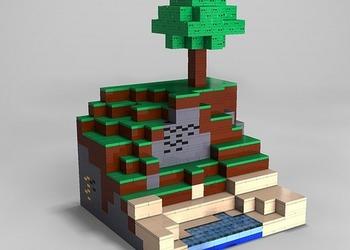 Фотография набора LEGO Minecraft