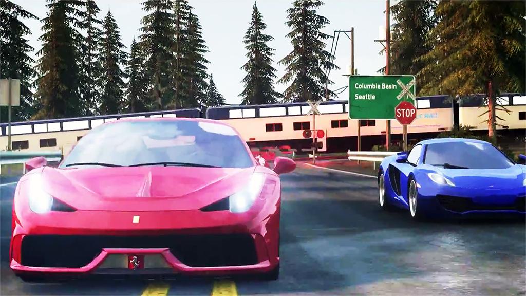 Ferrari 548 Speciale и McLaren 12C показали в новом ролике игры The Crew
