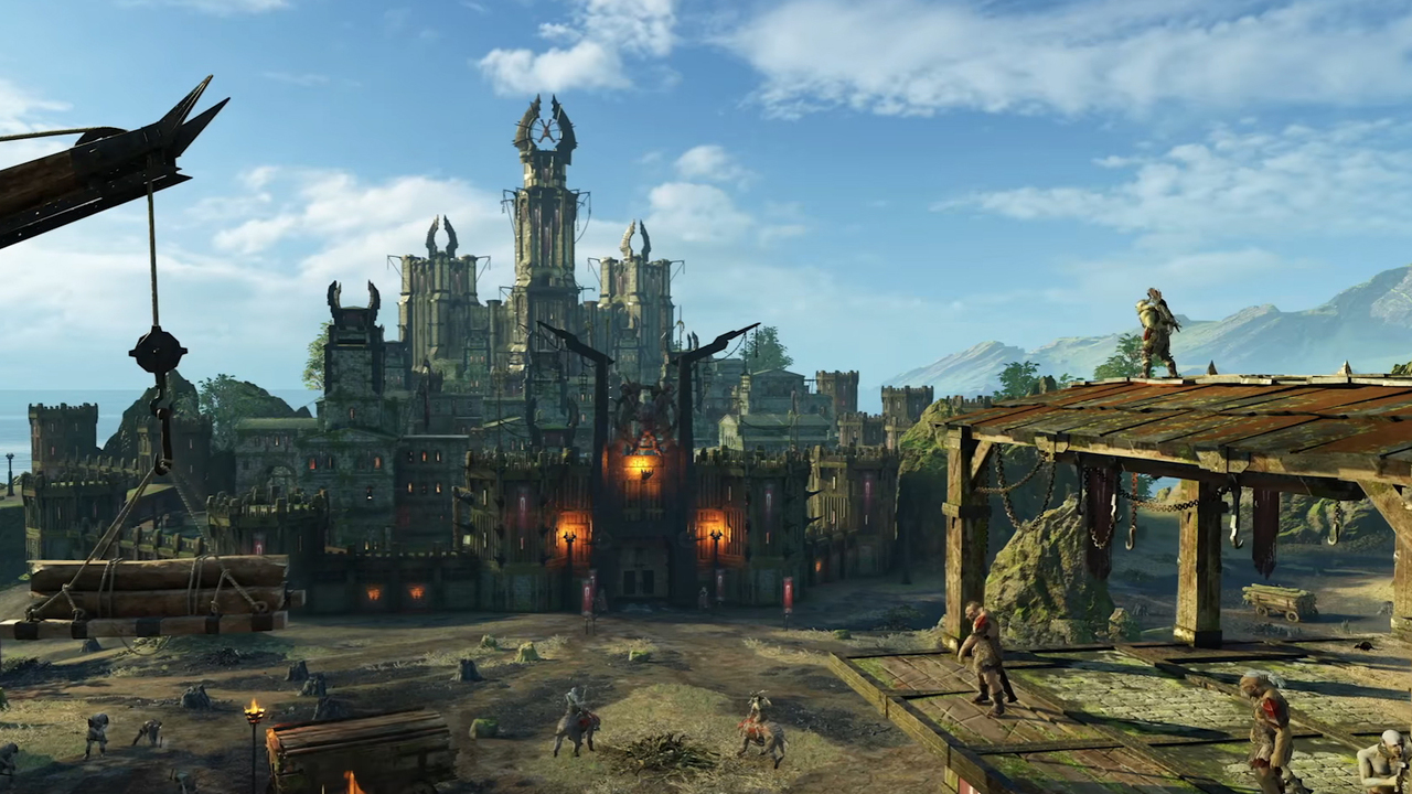 Вновом видео показали открытый мир Middle-earth: Shadow ofWar