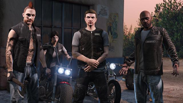 «Байкеры»— новое обновление для GTA онлайн выходит 4октября