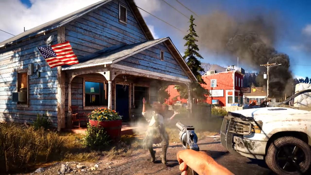 Первые кадры игрового процесса Far Cry 5
