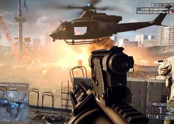 Снимок экрана Battlefield 4