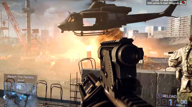 EA официально объявила дату релиза игры Battlefield 4 на страничке в Фейсбук