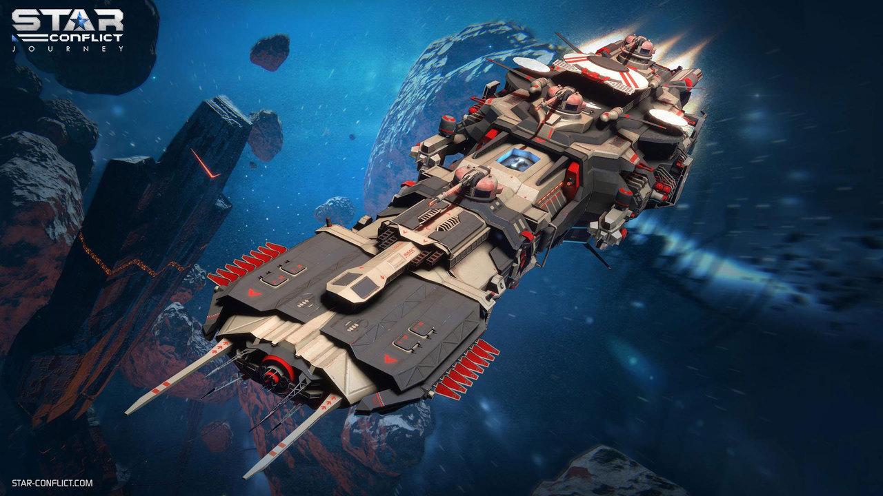 Просторы Star Conflict сейчас бороздит на100% обновлённый космический флот